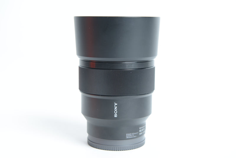 Used Sony FE 85mm f/1.8 Lens
