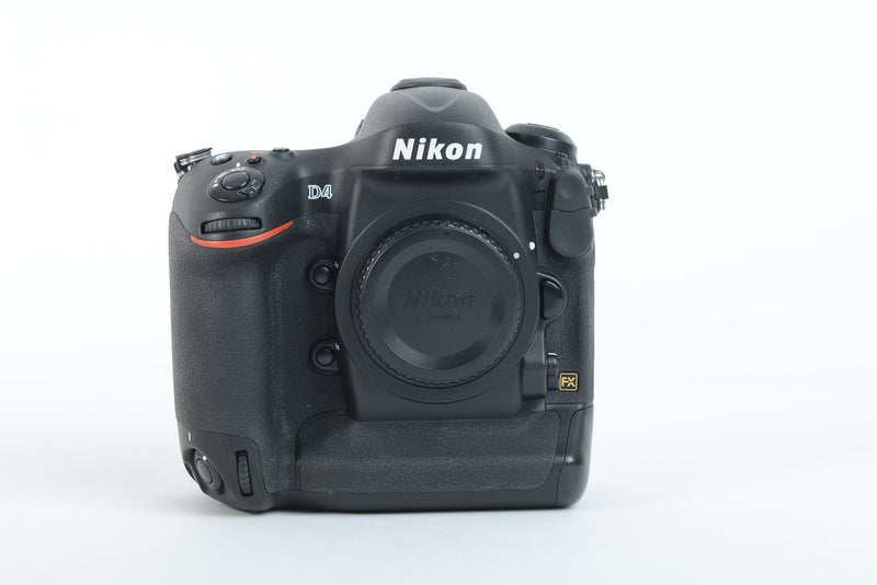 Used Nikon D4 Camera Body - Black