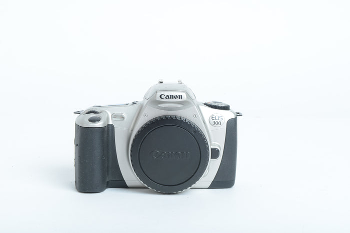 Used Canon EOS 300 35mm Film Camera Body - Silver
