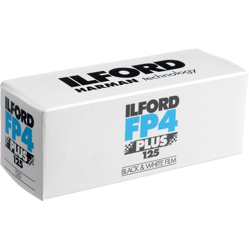 Ilford FP4 Plus 120 Roll Film
