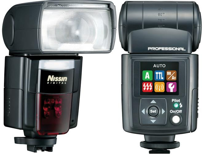 Nissin Di866 MkII Flash - Nikon