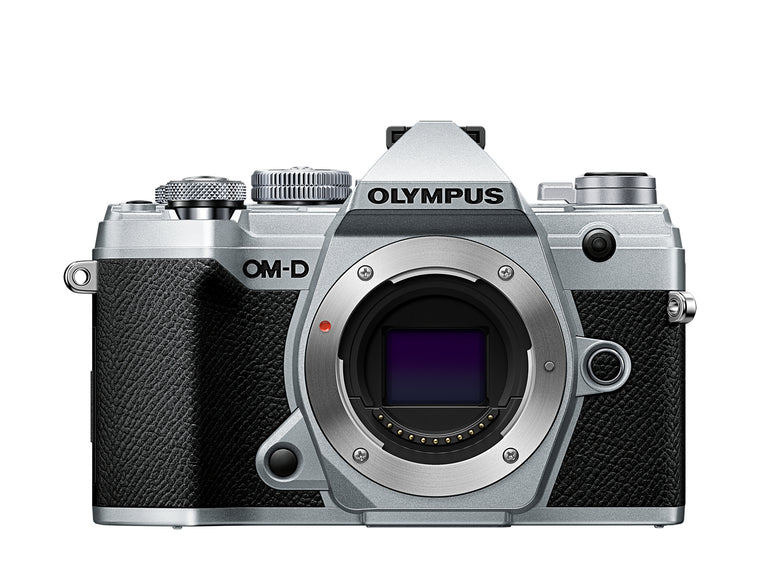 Olympus OM-D E-M5 Mark III Digital Camera with 12-40mm Lens - Silver
