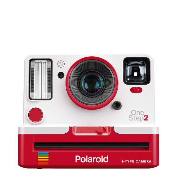 Polaroid Original OneStep2 - Red + i-Type Polaroid Film Cartridge