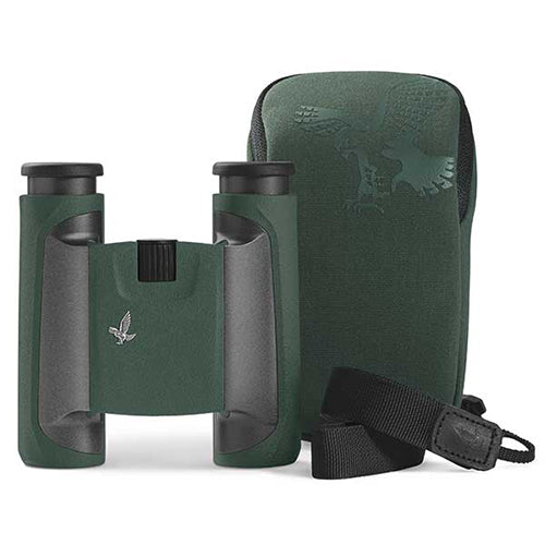 Swarovski CL 10x25 Pocket Binoculars - Wild Nature Pack - Green