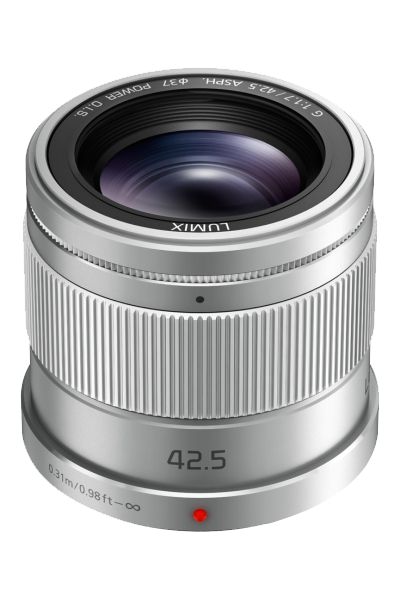 Panasonic 42.5mm f1.7 LUMIX G ASPH POWER OIS Lens - Silver