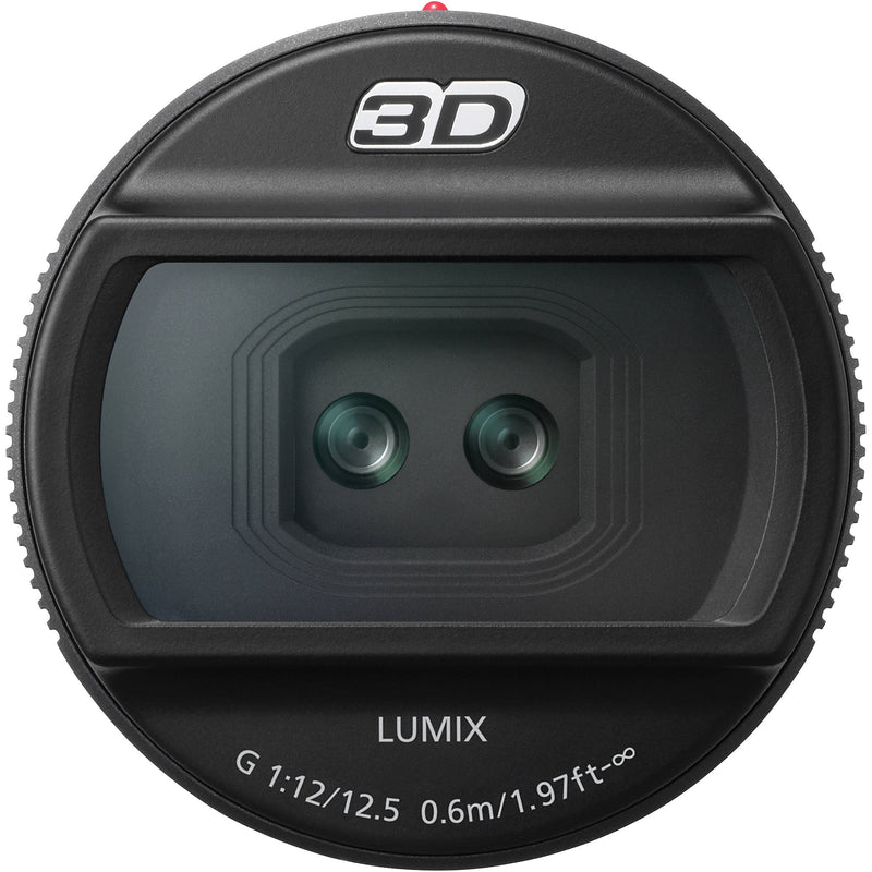 Panasonic 12.5mm F12 3D Lens