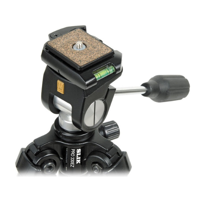 Slik SH-707E Pan Head (with 330DX) - DISCONTINUED