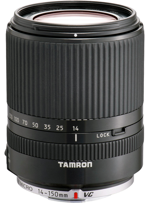 Tamron 14-150mm f3.5-5.8 Di III Micro Four Thirds Lens - Black