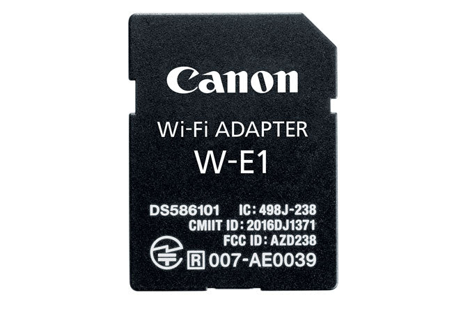Used Canon W-E1 Wi-Fi Adapter