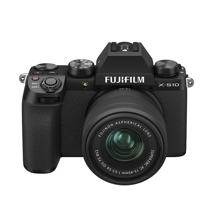 Fujifilm X-S10 Digital Camera with XC 15-45mm lens