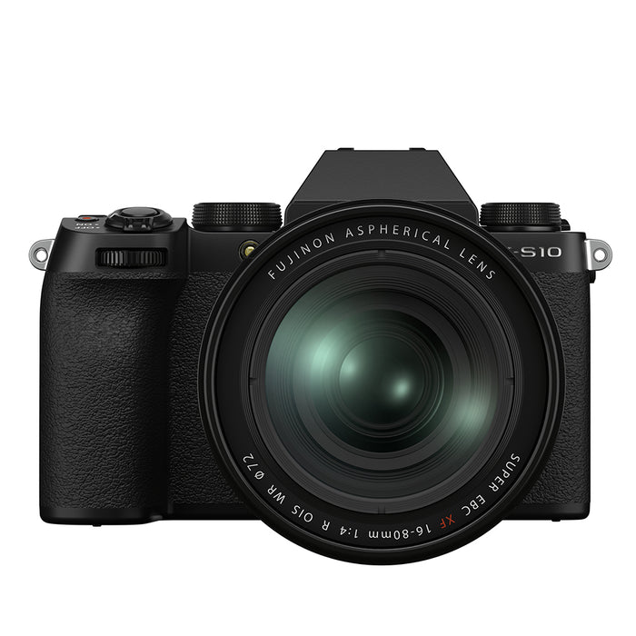 Fujifilm X-S10 Digital Camera with XF 16-80mm lens