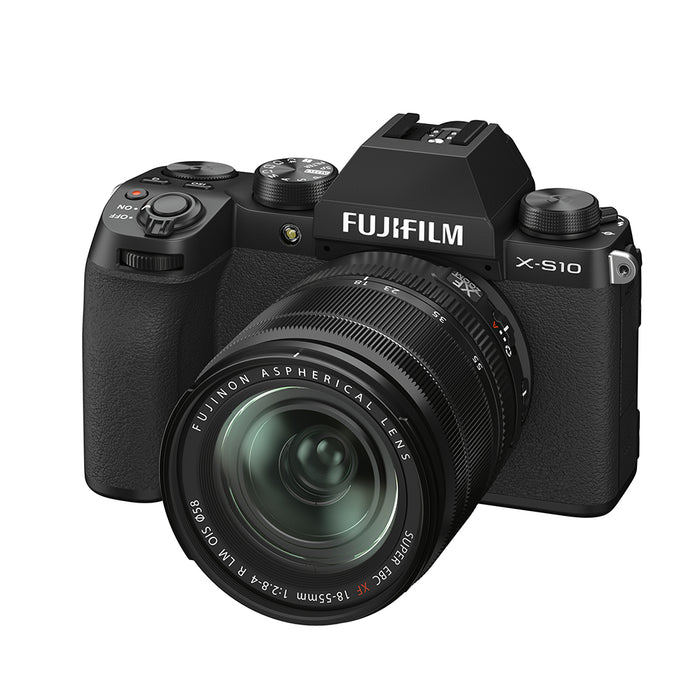 Fujifilm X-S10 Digital Camera with XF 18-55mm lens