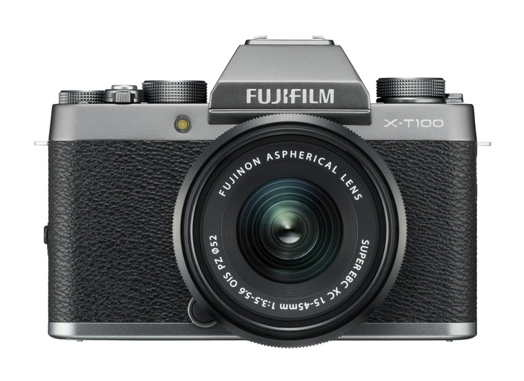 Fujifilm X-T100 Digital Camera with XC 15-45mm Lens