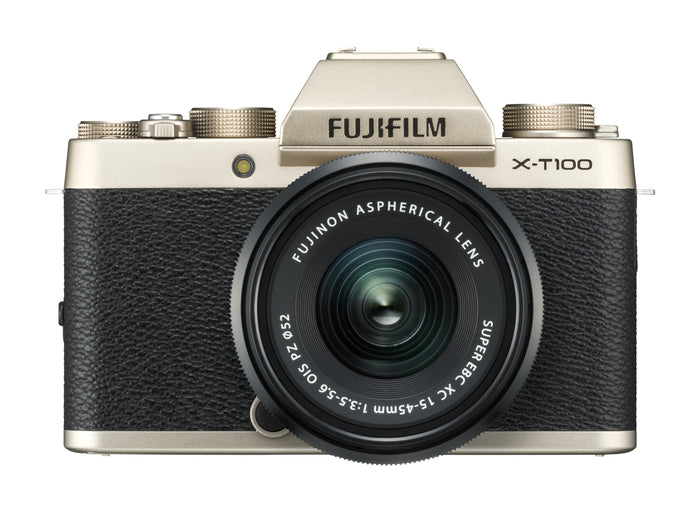 FUJIFILM X-T100 with XC 15-45mm f/3.5-5.6 OIS PZ Lens