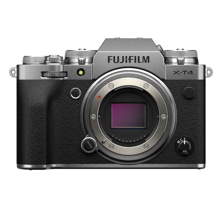 Fujifilm X-T4 Digital Camera Body - Silver
