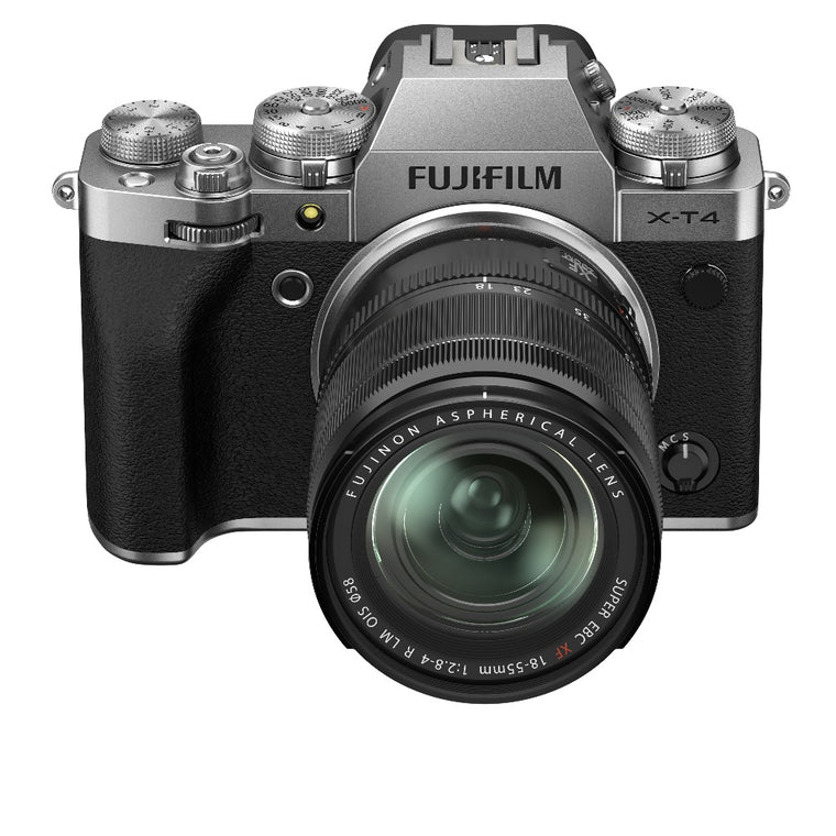 Fujifilm X-T4 Kit with 18-55mm Lens - Silver