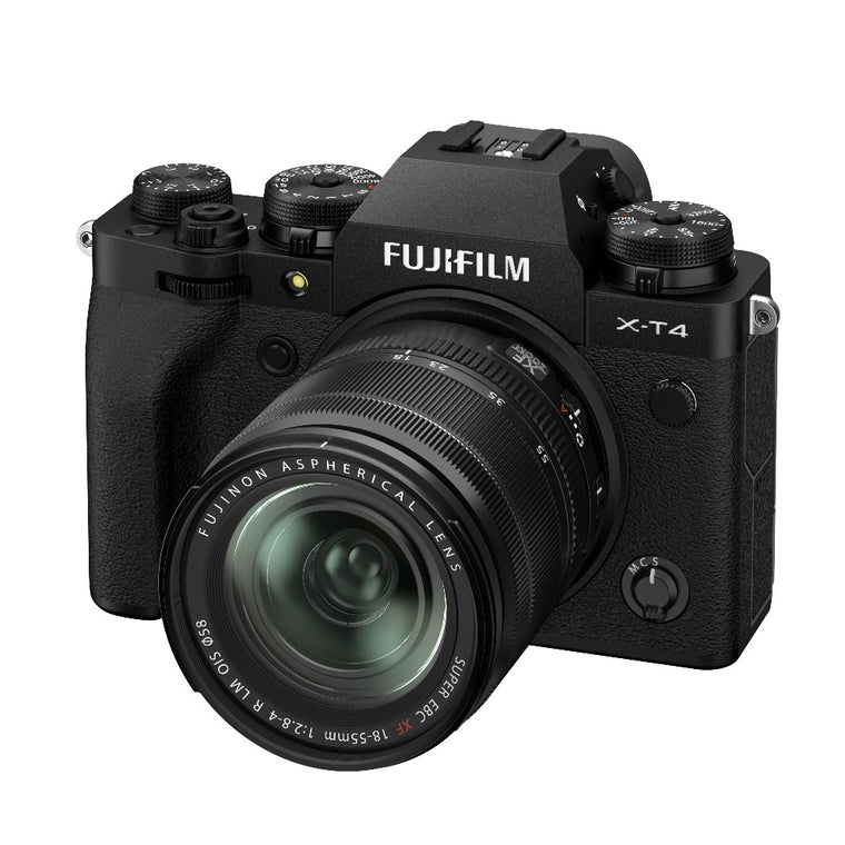 Fujifilm X-T4 Kit with 18-55mm lens - Black