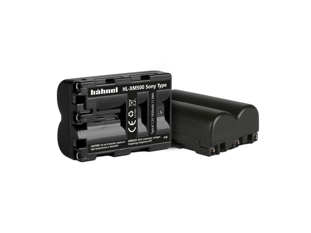 Hahnel HL-XM500 - Sony NP-FM500 Replacement Battery