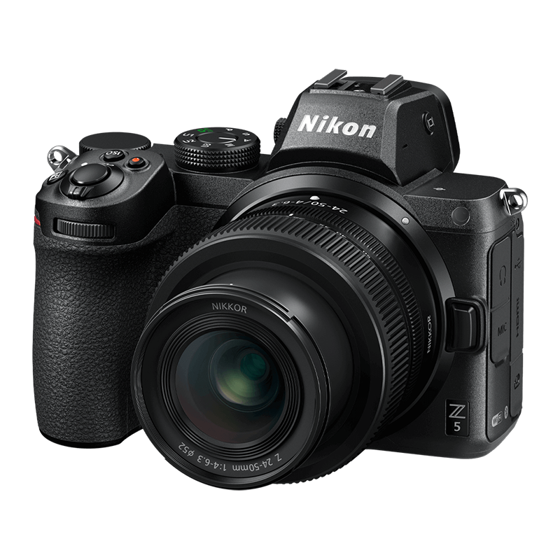 Nikon Z5 Digital Camera with 24-50mm lens and FTZ Adapter
