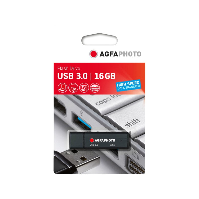 AGFAPhoto USB 3.0 16GB Black