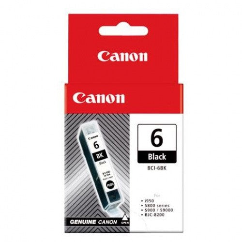 Canon BCI6BK Black Ink Cartridge
