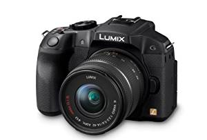 Panasonic Lumix DMC-G6 14-42mm + 45-140mm kit - Black