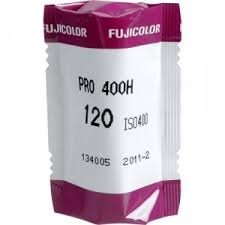 Fujifilm Colour Pro 400H 120 Film Single Roll