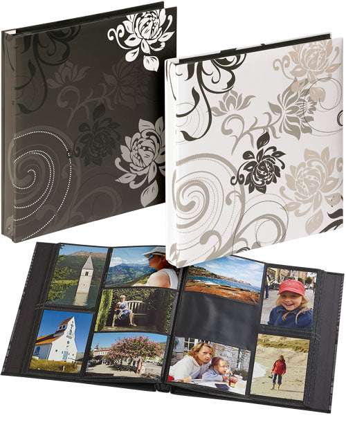 Grindy 24pg Assorted Black & White 6x4 Album