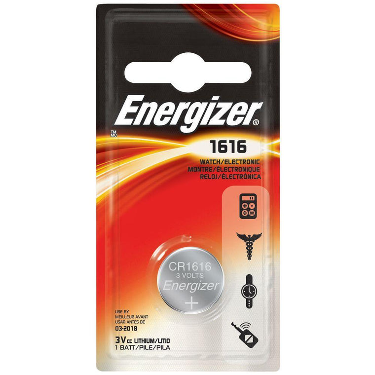 Energiser 1616 Lithium 3V Button Cell Battery