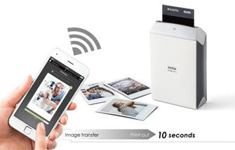 instax SHARE SP-2 Wireless Printer - Silver - Cambrian Photography - 1