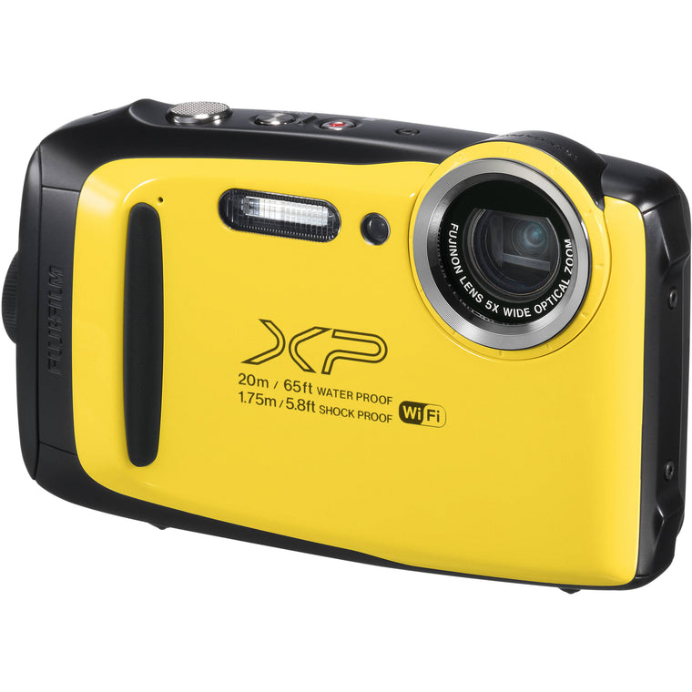 Fujifilm Finepix XP130 Digital Camera - Yellow