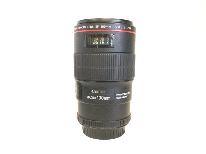 Used Canon 100mm Macro f2.8 L IS USM