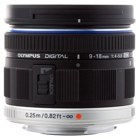 Olympus 9-18mm f4.0-5.6 M.ZUIKO Digital ED Micro Four Thirds Lens