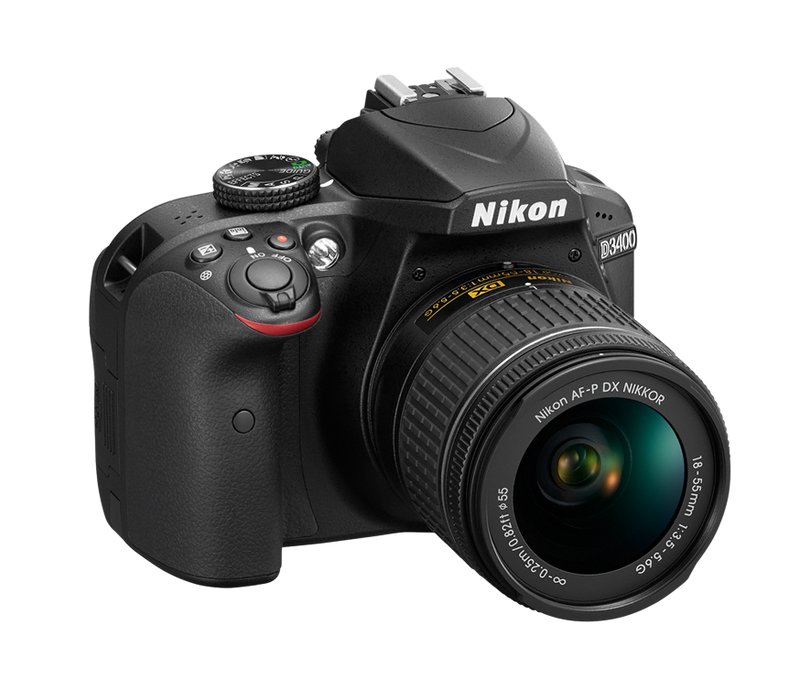 Nikon D3400 DSLR Camera 18-55 AF-P Kit