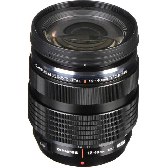 Olympus 12-40mm f2.8 M.ZUIKO PRO Micro Four Thirds Lens - Black