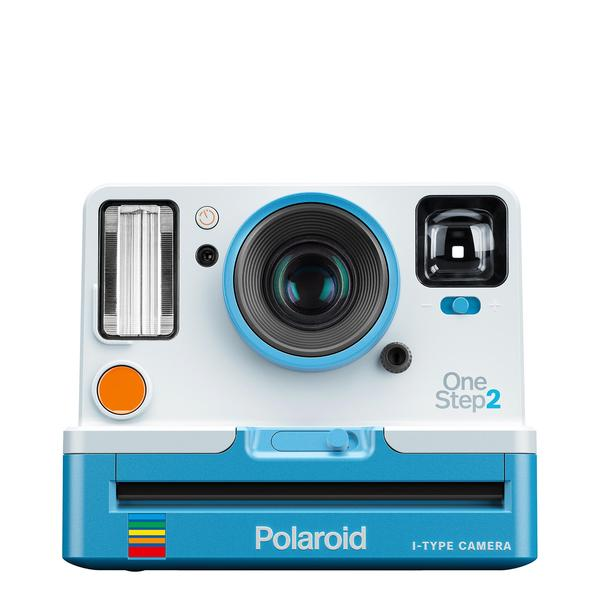Polaroid Original OneStep2 - Blue + i-Type Polaroid Film Cartridge