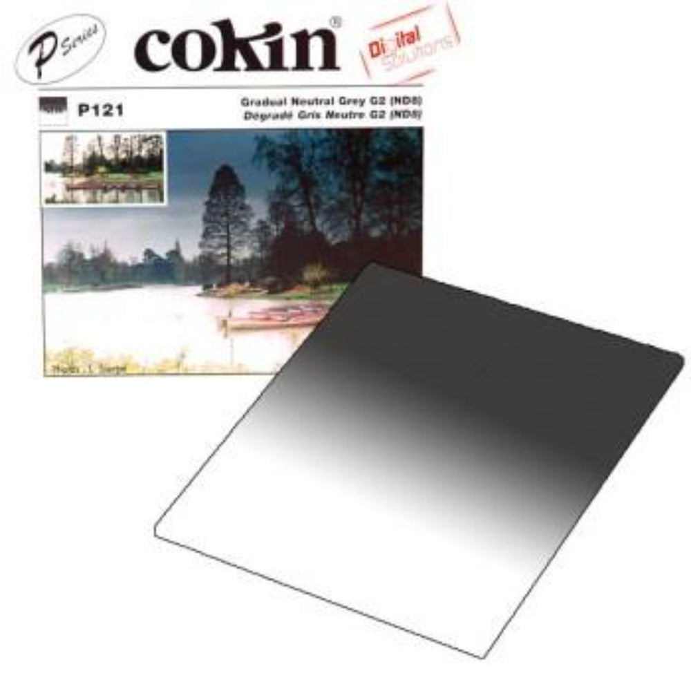 Cokin P121 Gradual Grey G2 (ND8) Filter