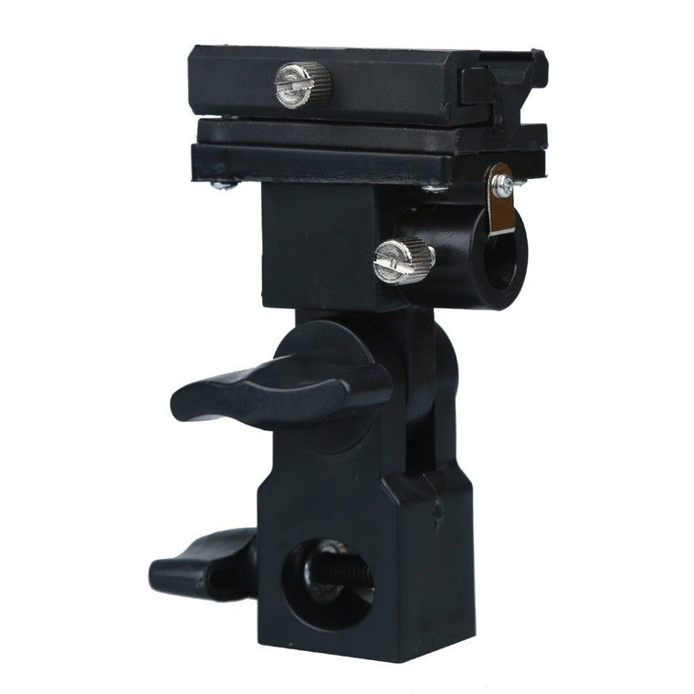 B Type Hot shoe Flash Flashgun Speedlite Bracket Umbrella Holder