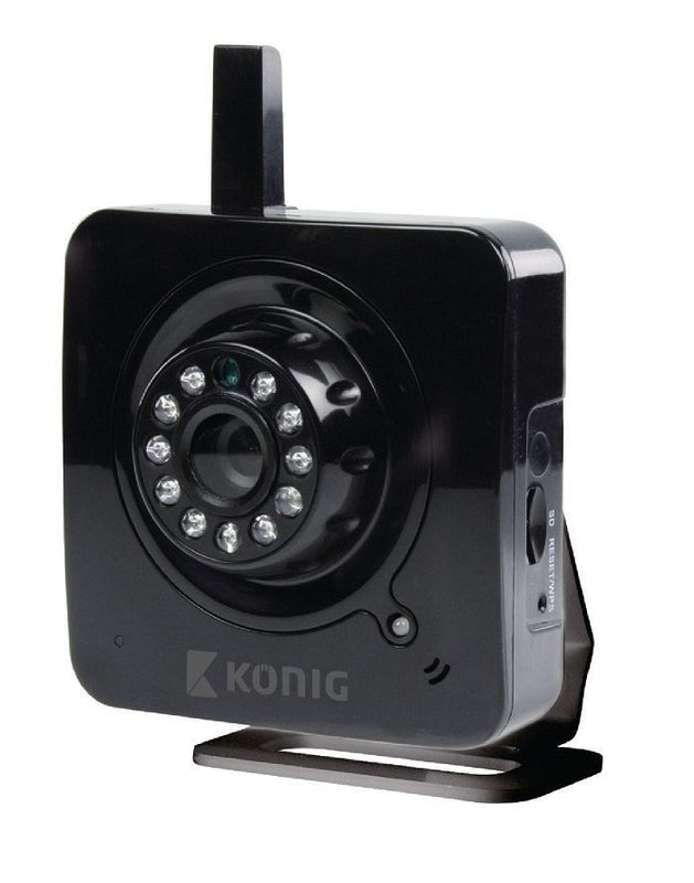 Konig Enhanced Indoor IP Camera Black UK Version