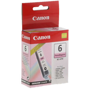Canon BCI6PM Photo Magenta Ink Cartridge