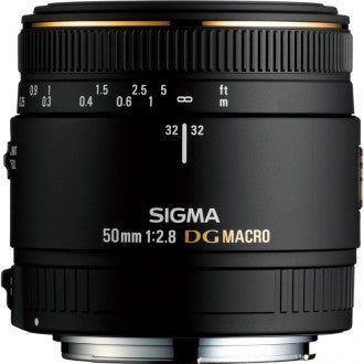 Sigma 50 mm f2.8 DG Macro Lens Nikon Fit - Cambrian Photography