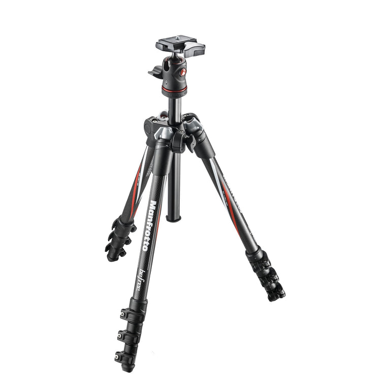 Manfrotto Befree Travel Tripod with Ball Head- Carbon Fibre