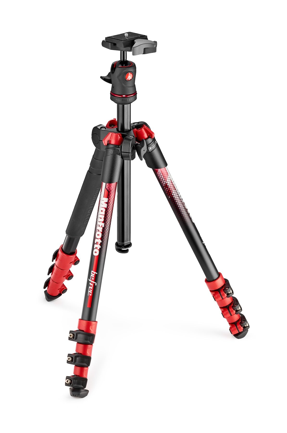 Manfrotto Befree Alu Red