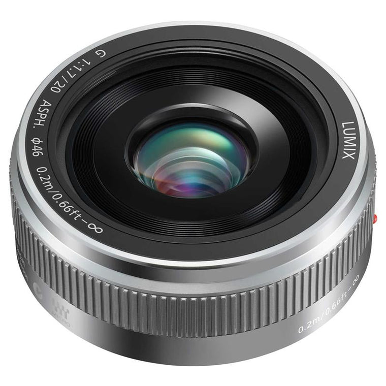 Panasonic 20mm F1.7 LUMIX G II ASPH G Micro Four Thirds Lens - Silver