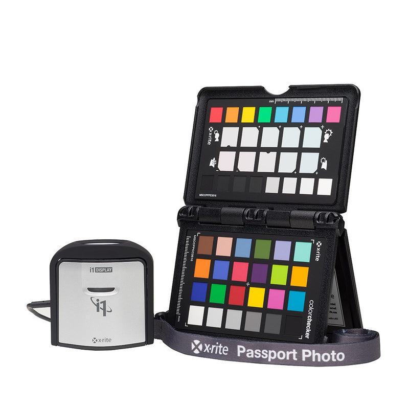 X-Rite i1 Photographer Kit - Display PRO and ColorChecker Passport