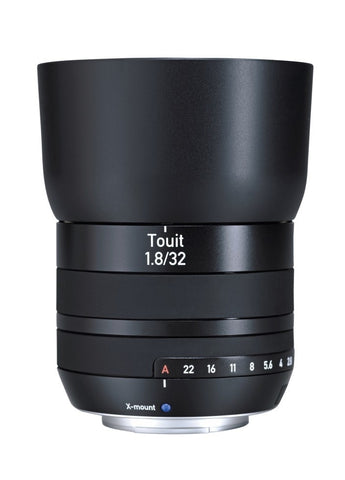 ZEISS Touit 1.8/32 X-Mount - Cambrian Photography