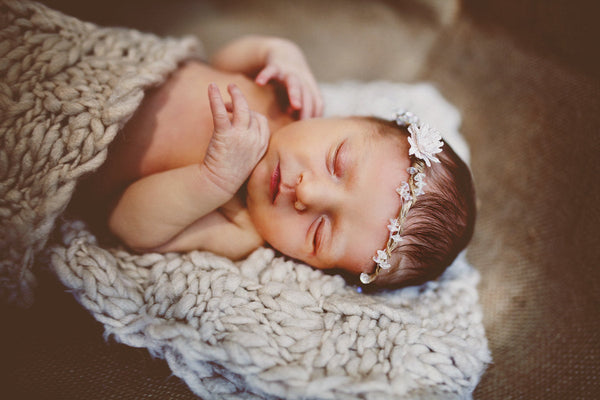 Newborn photography Newborn head wreath flower head wreath photo prop child wreath newborn crown baby photo baby flower crown
