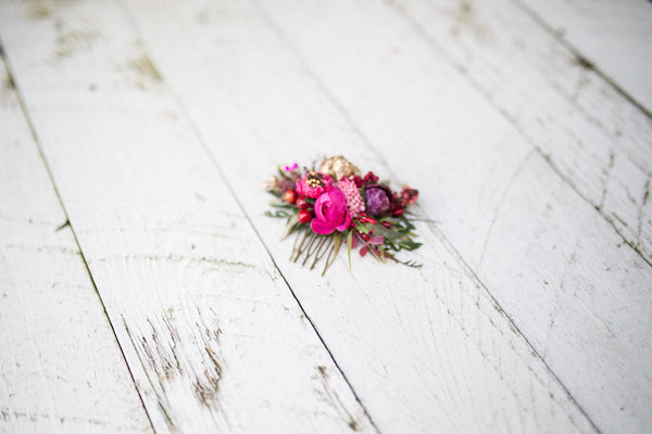 Set of flower accessories Flower bridal hair comb hair pin wedding Flower application