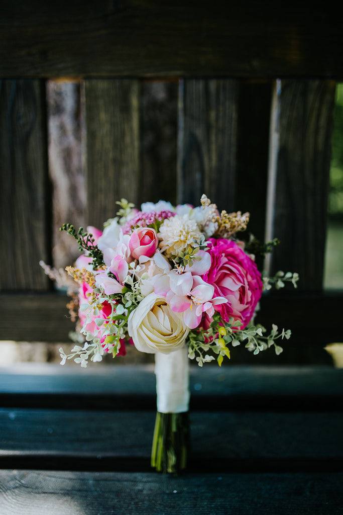 Wedding Flower Arrangements.Boho Wedding Bouquet Pink And Cream Flowers Romantic Style Flower Bouquet T Wedding Bouquet With Roses Bridal Flower Bouquet Bridal Bouquet