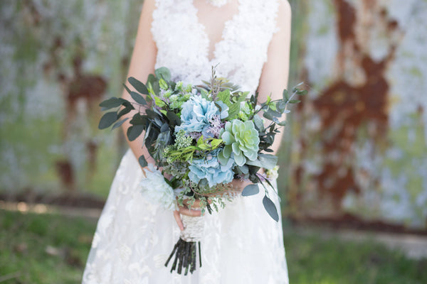 Greenery bouquet Wedding bouquet with succulents Bridal accessories Bridal bouquet Magaela accessories Wedding accessories Bouquet for bride